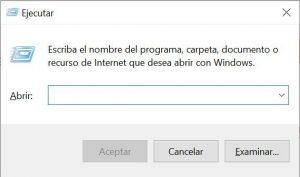 eliminar archivos temporales windows 10 ejecutar