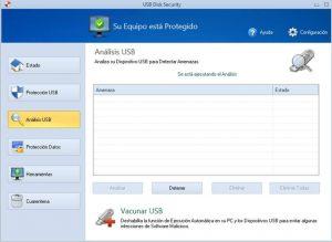 eliminar virus de acceso directo con usb disk security analizar usb