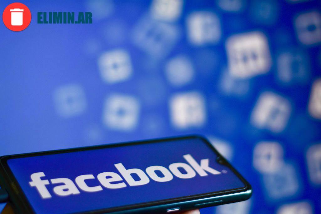 eliminar cuenta de facebook desde el celular
