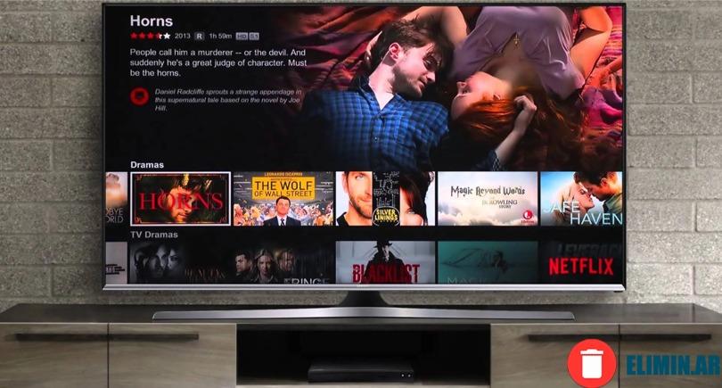 ELIMINAR CUENTA DE NETFLIX desde el Smart tv