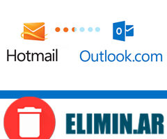 eliminar cuenta de hotmail outlook