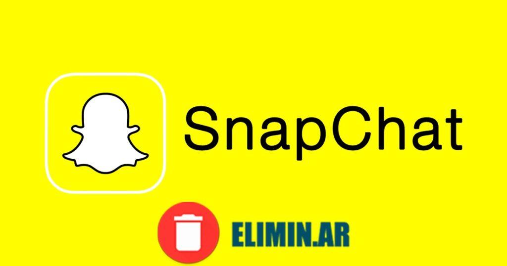 eliminar snapchat